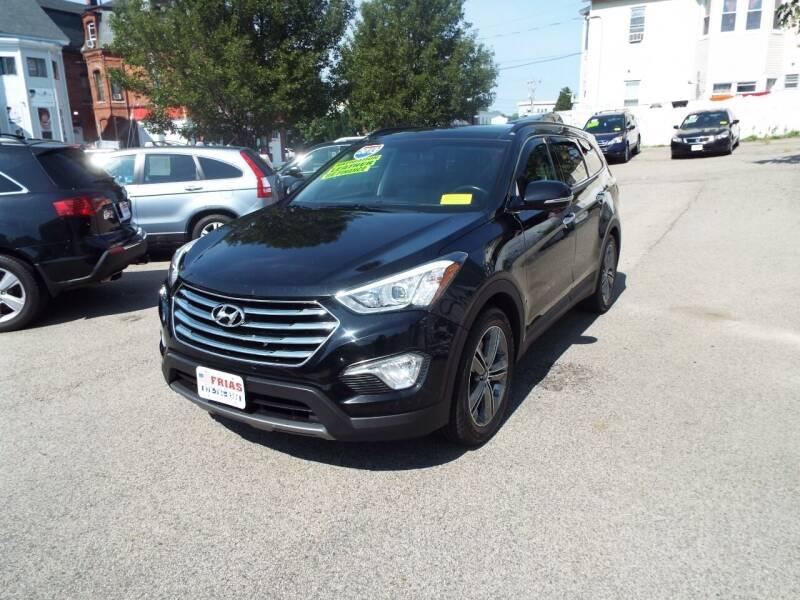 2013 Hyundai Santa Fe for sale at FRIAS AUTO SALES LLC in Lawrence MA