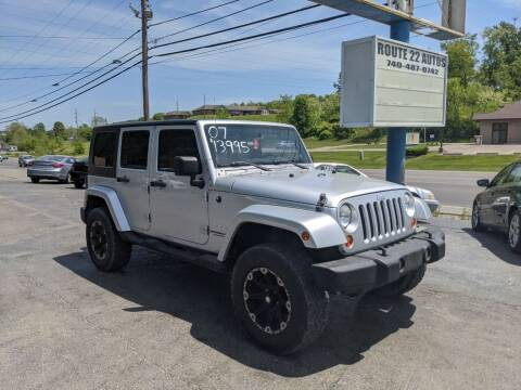 2007 Jeep Wrangler Unlimited for sale at Route 22 Autos in Zanesville OH