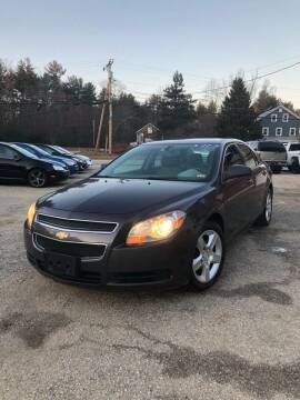 2011 Chevrolet Malibu for sale at Hornes Auto Sales LLC in Epping NH