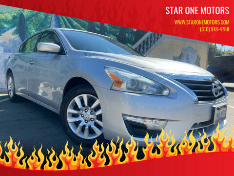 2015 Nissan Altima for sale at Star One Motors in Hayward CA
