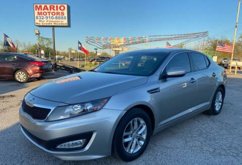 2013 Kia Optima for sale at Mario Motors in South Houston TX