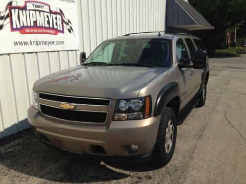 2007 Chevrolet Suburban for sale at Team Knipmeyer in Beardstown IL