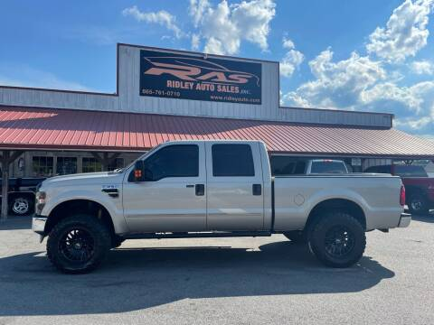 2008 Ford F-250 Super Duty for sale at Ridley Auto Sales, Inc. in White Pine TN