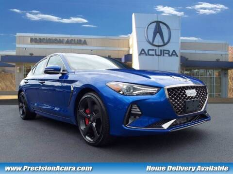 2021 Genesis G70 for sale at Precision Acura of Princeton in Lawrence Township NJ