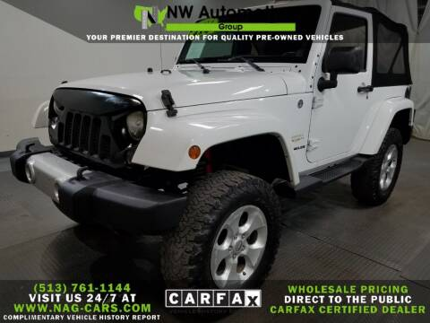 2014 Jeep Wrangler for sale at NW Automotive Group in Cincinnati OH