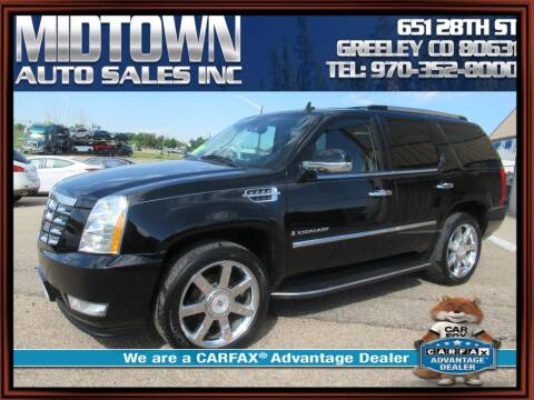 2009 Cadillac Escalade for sale at MIDTOWN AUTO SALES INC in Greeley CO