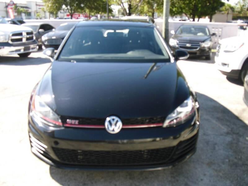 2017 Volkswagen Golf GTI for sale in Hialeah, FL