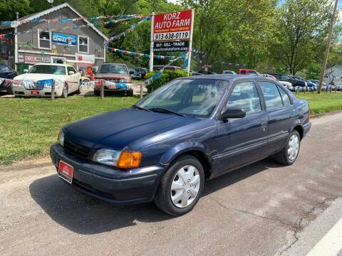 1997 Toyota Tercel for sale at Korz Auto Farm in Kansas City KS