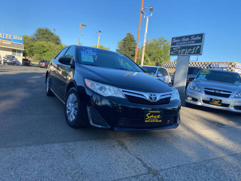 2012 Toyota Camry for sale at Save Auto Sales in Sacramento CA