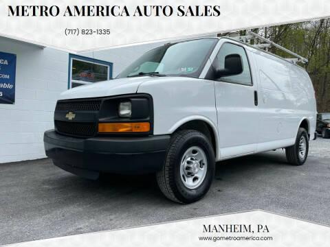 2014 Chevrolet Express Cargo for sale at METRO AMERICA AUTO SALES of Manheim in Manheim PA