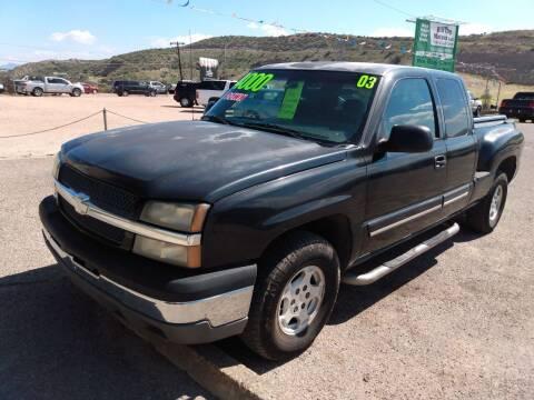 2003 Chevrolet Silverado 1500 for sale at Hilltop Motors in Globe AZ