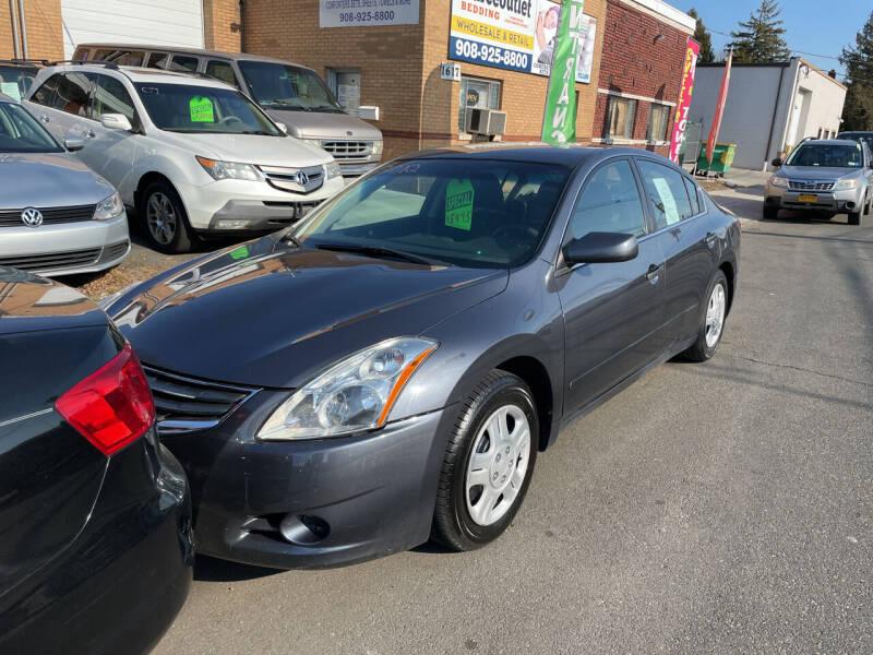 2012 Nissan Altima for sale at Frank's Garage in Linden NJ