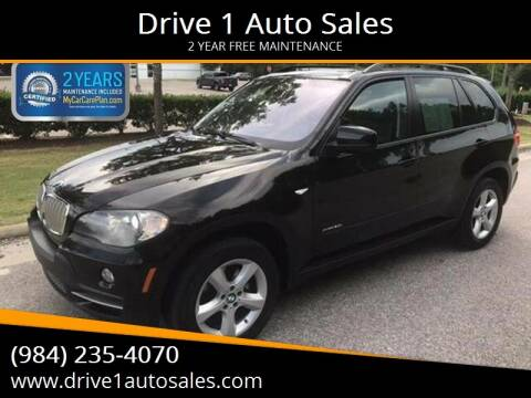 2010 BMW X5 for sale at Drive 1 Auto Sales in Wake Forest NC