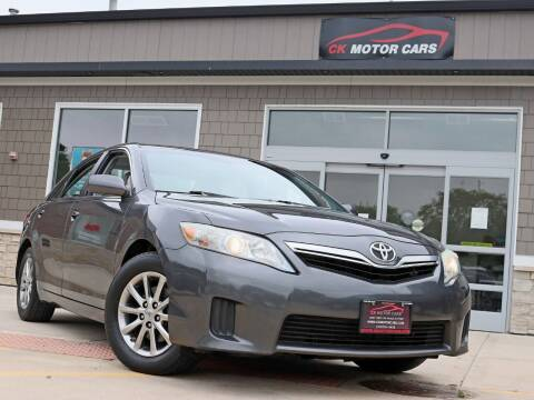 2010 Toyota Camry Hybrid for sale at CK MOTOR CARS in Elgin IL