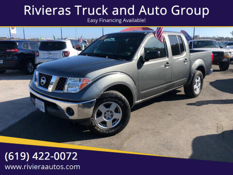 2006 Nissan Frontier for sale at Rivieras Truck and Auto Group in Chula Vista CA