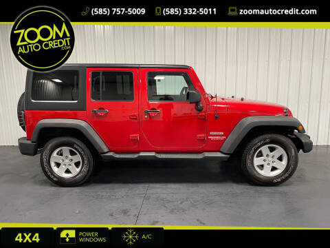2012 Jeep Wrangler Unlimited for sale at ZoomAutoCredit.com in Elba NY