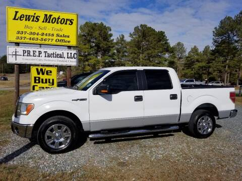 2010 Ford F-150 for sale at Lewis Motors LLC in Deridder LA
