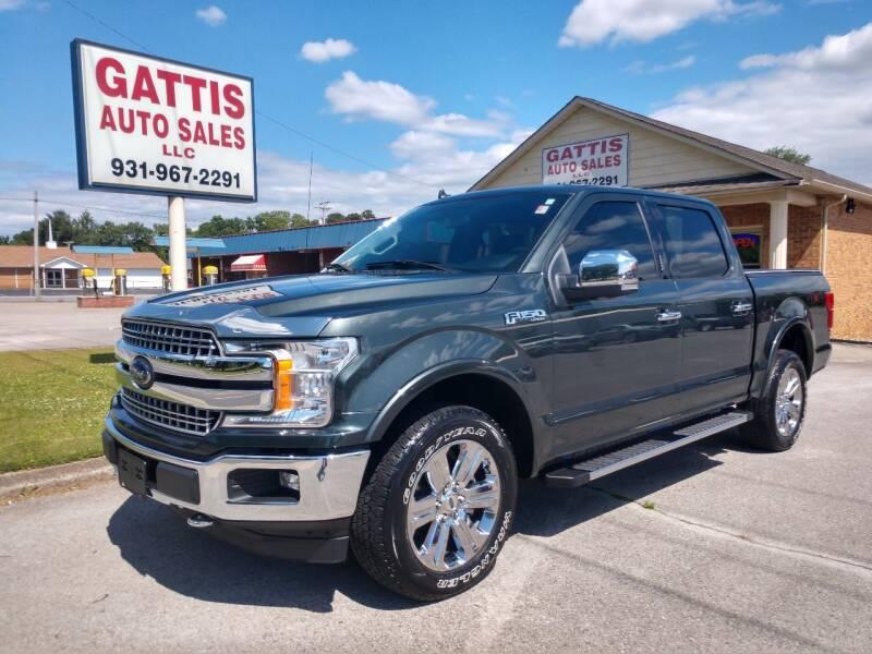 2018 Ford F-150 for sale at Gattis Auto Sales LLC in Winchester TN