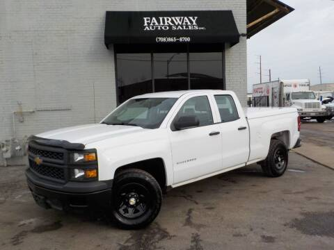 2014 Chevrolet Silverado 1500 for sale at FAIRWAY AUTO SALES, INC. in Melrose Park IL