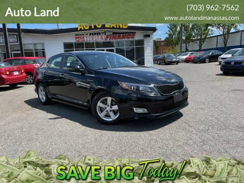 2014 Kia Optima for sale at Auto Land in Manassas VA