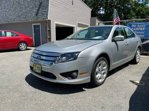 2010 Ford Fusion for sale at JK & Sons Auto Sales in Westport MA