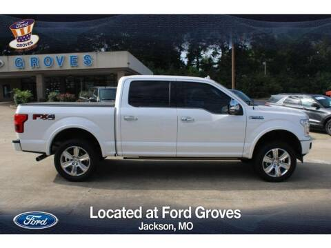 2018 Ford F-150 for sale at JACKSON FORD GROVES in Jackson MO