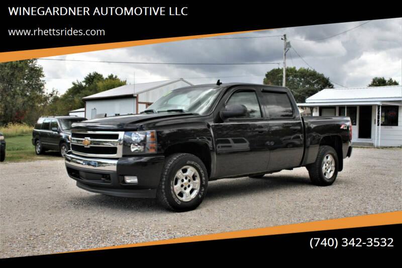 2007 Chevrolet Silverado 1500 for sale at WINEGARDNER AUTOMOTIVE LLC in New Lexington OH