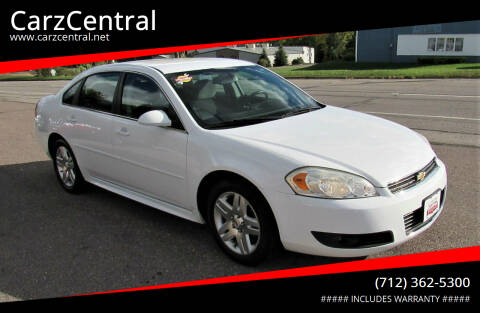 2011 Chevrolet Impala for sale at CarzCentral in Estherville IA
