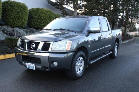 2004 Nissan Titan for sale at SS MOTORS LLC in Edmonds WA