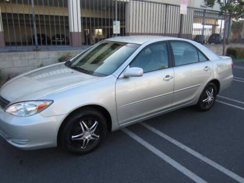 2003 Toyota Camry for sale at PREFERRED MOTOR CARS in Covina CA