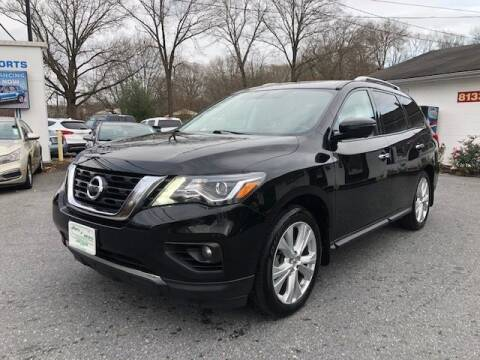 2018 Nissan Pathfinder for sale at Sports & Imports in Pasadena MD