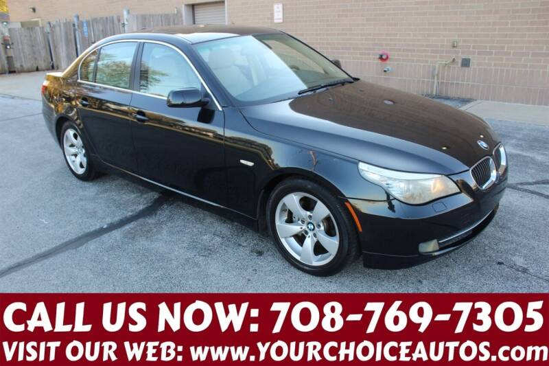 2008 BMW 5 Series for sale at Your Choice Autos in Posen IL