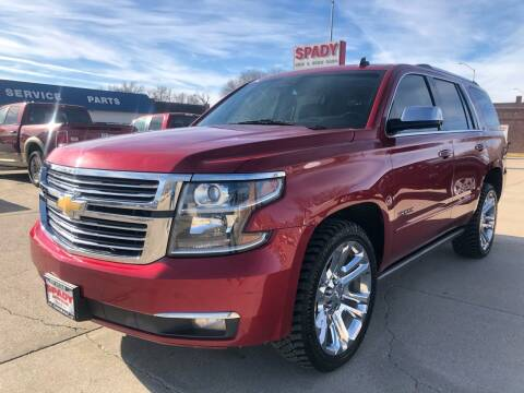 2015 Chevrolet Tahoe for sale at Spady Used Cars in Holdrege NE
