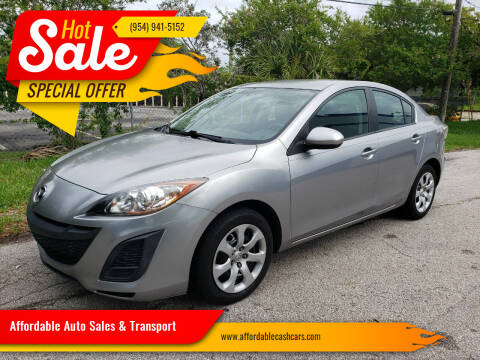 2011 Mazda MAZDA3 for sale at Affordable Auto Sales & Transport in Pompano Beach FL