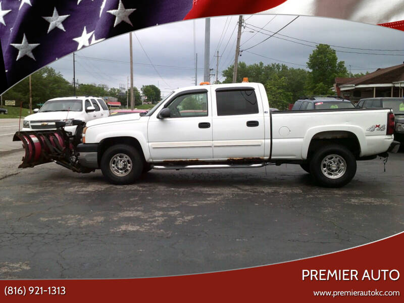 2005 Chevrolet Silverado 2500HD for sale at Premier Auto in Independence MO