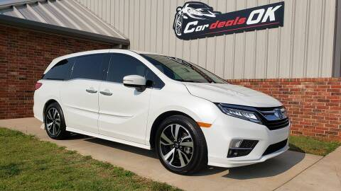 2020 Honda Odyssey for sale at Car Deals OK in Oklahoma City OK