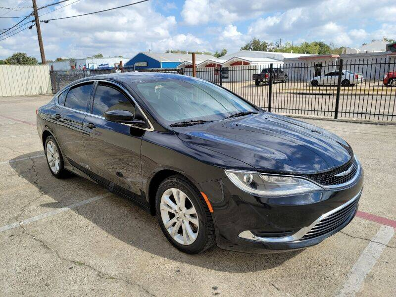 2016 Chrysler 200 for sale at A & J Enterprises in Dallas TX