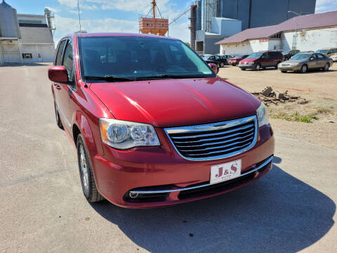 2012 Chrysler Town and Country for sale at J & S Auto Sales in Thompson ND