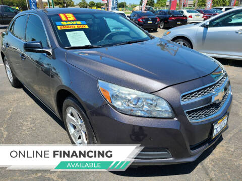 2013 Chevrolet Malibu for sale at Super Cars Sales Inc #1 in Oakdale CA