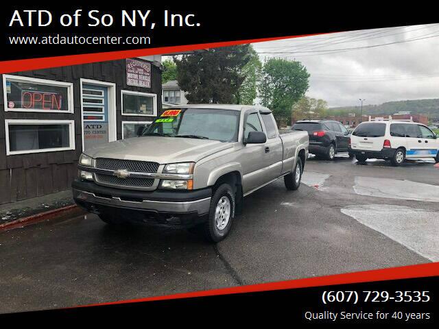 2003 Chevrolet Silverado 1500 for sale at ATD of So NY, Inc. in Johnson City NY