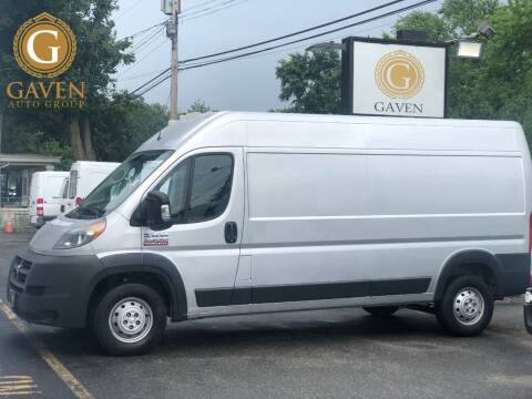 2018 RAM ProMaster Cargo for sale at Gaven Auto Group in Kenvil NJ