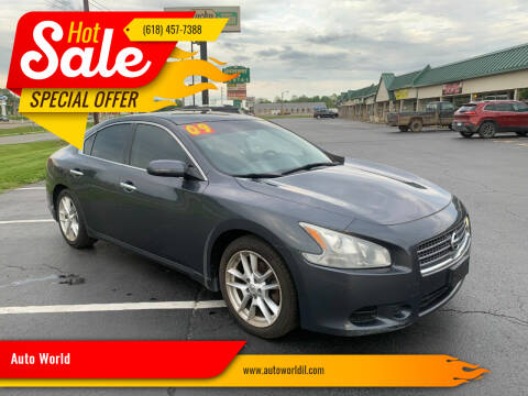 2009 Nissan Maxima for sale at Auto World in Carbondale IL