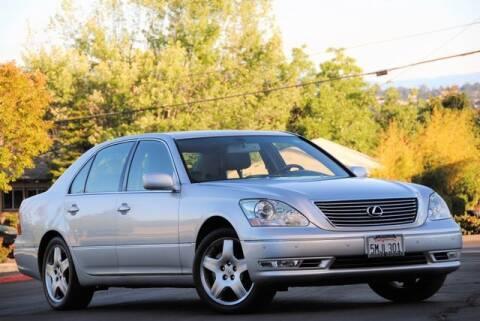 2005 Lexus LS 430 for sale at VSTAR in Walnut Creek CA