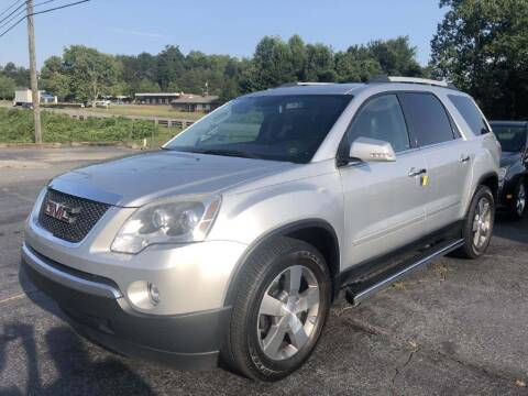 2012 GMC Acadia for sale at IDEAL IMPORTS WEST in Rock Hill SC