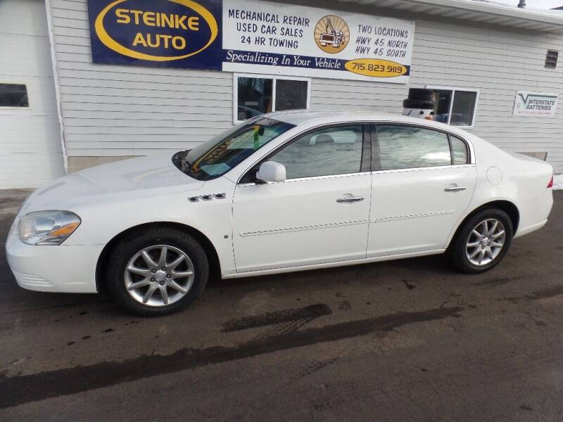 2008 Buick Lucerne for sale at STEINKE AUTO INC. - Steinke Auto Inc (South) in Clintonville WI