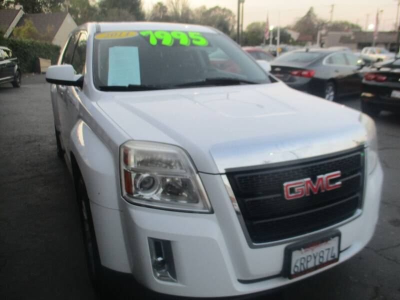 2011 GMC Terrain for sale at Quick Auto Sales in Modesto CA