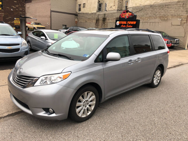 2012 Toyota Sienna for sale at STEEL TOWN PRE OWNED AUTO SALES in Weirton WV