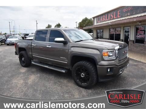 2015 GMC Sierra 1500 for sale at Carlisle Motors in Lubbock TX