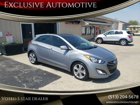 2014 Hyundai Elantra GT for sale at Exclusive Automotive in West Chester OH