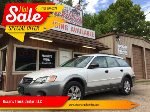 2005 Subaru Outback for sale at Oscar's Truck Center, LLC in Houston TX